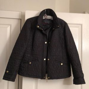 Quilt style jacket.